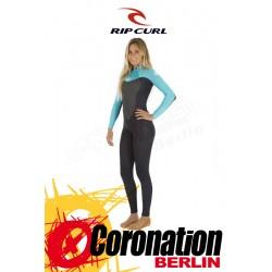 Rip Curl Omega Woman Wetsuit 5/3 Backzip Frauen Neoprenanzug Turquoise