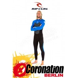 Rip Curl Omega 5/3 Men Wetsuit Backzip Steamer Neoprenanzug blue