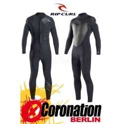 Rip Curl Dawn Patrol 5/3 BackZip Black Fullsuit Steamer 2017