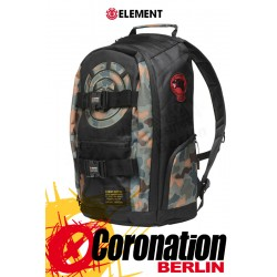 Element Mohave 30L Skate Street & Schul Rucksack Laptop Backpack Camo Black