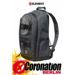 Element Mohave 30L Skate Street & Schul Rucksack Laptop Backpack Black Heat
