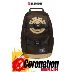 Element Mohave 30L Skate Street & Schul Rucksack Laptop Backpack Coffee Brown