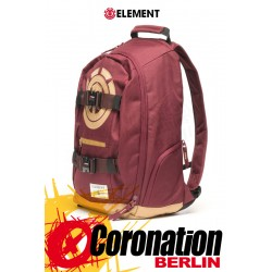 Element Mohave 30L Skate Street & Schul Rucksack Laptop Backpack Nappa Red