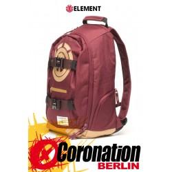 Element Mohave 30L Skate Street & Schul Rucksack Laptop Backpack Nappa Red