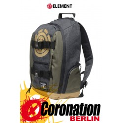 Element Mohave 30L Skate Street & Schul Rucksack Laptop Backpack Charcoal Heather