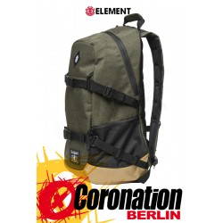 Element Jaywalker 30L Backpack Skate Street & Schul Rucksack Moss Heather