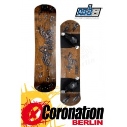 MBS Comp 95 Mountainboard DECK only Birds