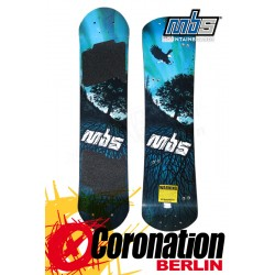 MBS Comp 95 Tree Mountainboard DECK only Blau
