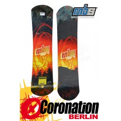 MBS Comp 90 Forest Mountainboard DECK only