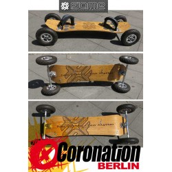 Flame Mountainboard Bamboo ATB Komplettboard