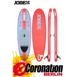 Jobe SUP Yarra 10.6 Inflatable Standup Paddle Board Set Rot