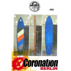NGU Inflatable SUP Board 10'6 Standup Paddle Board 55 (Blau)