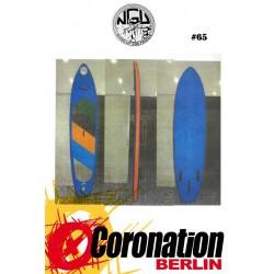 NGU Inflatable SUP Board 10'6 Standup Paddle Board 65 (Blau)