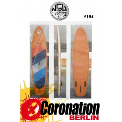 NGU Inflatable SUP Board 10'6 Standup Paddle Board 104 (Orange)