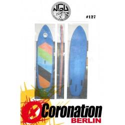 NGU Inflatable SUP Board 10'6 Standup Paddle Board 127 (Blau)