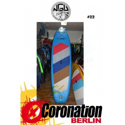 NGU Inflatable SUP Board 10'6 Standup Paddle Board 22 (blau)