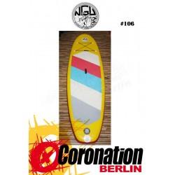 NGU Inflatable SUP Board 10'7 Standup Paddle Board 106 (Gelb)