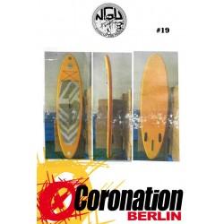 NGU Inflatable SUP Board 10'8 Standup Paddle Board 19 (Orange)