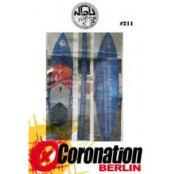 Jobe SUP Yarra 11'0 Inflatable Standup Paddle Board Set Blau