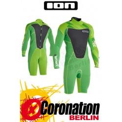 ION Element Shorty LS 2,5 DL combinaison neoprène 2014 vert