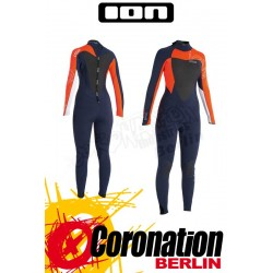 ION Jewel Semidry 5,5 DL woman neopren suit orange/navy