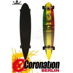 "Krown Longboard Komplett Rasta City Surf Cruiser 43"""