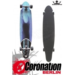 Krown Longboard complete Blue Wave Kicktail Cruiser 41,5""