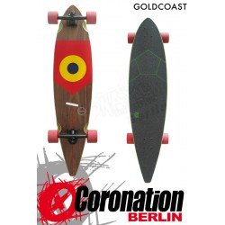 GoldCoast GOAL Longboard Pintail Cruiser - SPAIN