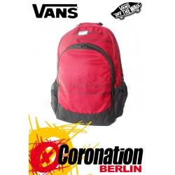 Vans Van Doren Schul & Street Rucksack Sport & Freizeit Backpack Red