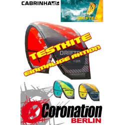 Cabrinha Drifter 2015 TEST Kite 13m²