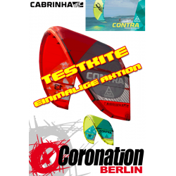 Cabrinha Contra 17m² 2015 light wind TEST Kite