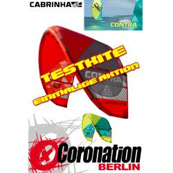 Cabrinha Contra 17m² 2015 vent léger TEST Kite
