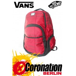 Vans 5-0 Backpack Schul & Street Rucksack Red Backpack