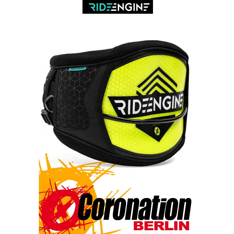 Ride Engine Hex Core Volt Yellow 2017 Hard-Shell Trapez