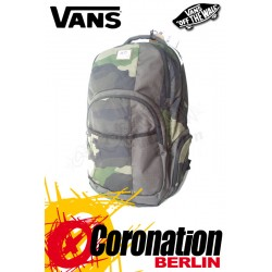 Vans 5-0 Backpack Schul & Street Rucksack Military Camo Backpack