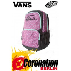 Vans Laced-Up Girl Backpack Schul & Freizeit Rucksack Pink