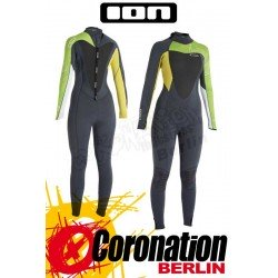 ION Jewel Semidry 5,5 woman neopren suit green/grey