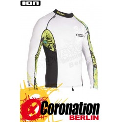 ION Riot Rashguard LS White/Black