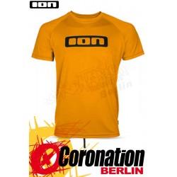ION Wetshirt LOGO SS Quickdry Water T-Shirt Saffron
