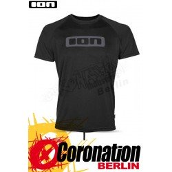 ION Wetshirt LOGO SS Quickdry Water T-Shirt Black