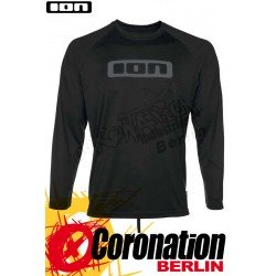 ION Wetshirt LOGO LS Quickdry Water T-Shirt Black