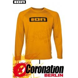 ION Wetshirt LOGO LS Quickdry Water T-Shirt Saffron