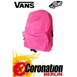 Vans Realm Girls Backpack Pink Neon Fashion & Street Rucksack