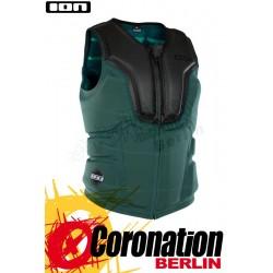 ION Collision Vest Select 2018 Prallschutz Weste FZ Black/Seaweed