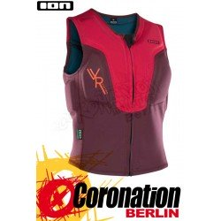 ION Vector Vest 2018 Prallschutz Weste FZ Cherry/Wine Red