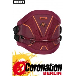 ION Apex 2018 Kite Waist Harness Hüft Trapez Wine Red/Orange