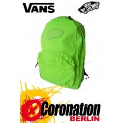 Vans Realm Girls Backpack Green Neon Fashion & Street Rucksack