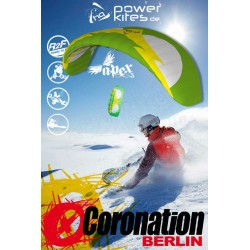 HQ Apex V Depowerkite 11.0 Snowkite with bar