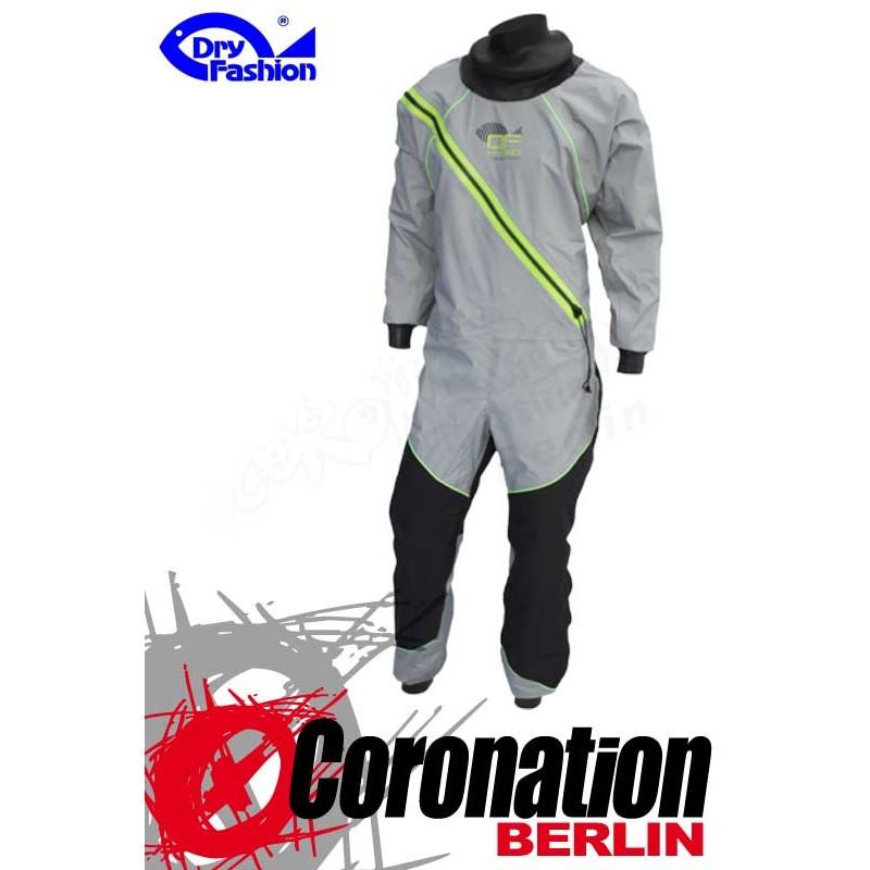 Dry Fashion Trockenanzug Profi-Sailing Regatta Grau/Neongrün