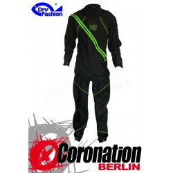 Dry Fashion Trockenanzug Profi-Sailing Regatta black/Neon green